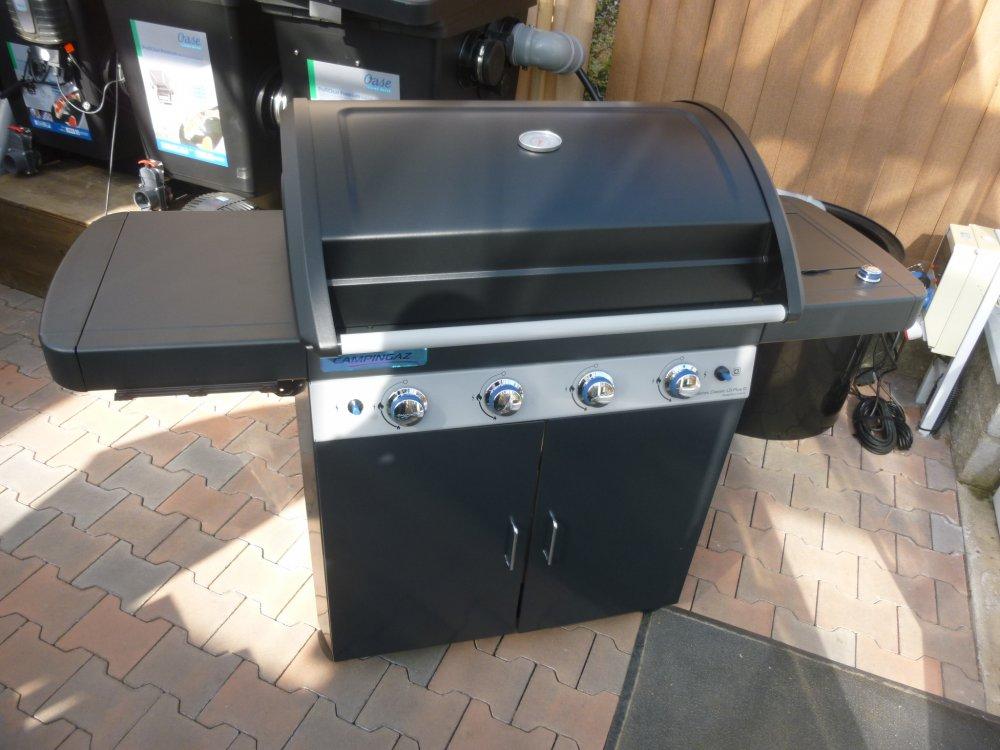 Recenze plynového grilu Campingaz 4 Series Classic LS Plus D