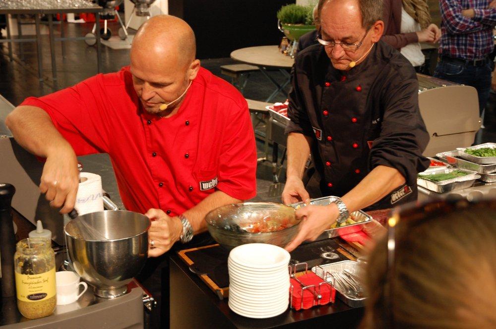 Odhalte snámi tajemství šéfkuchařů u grilu