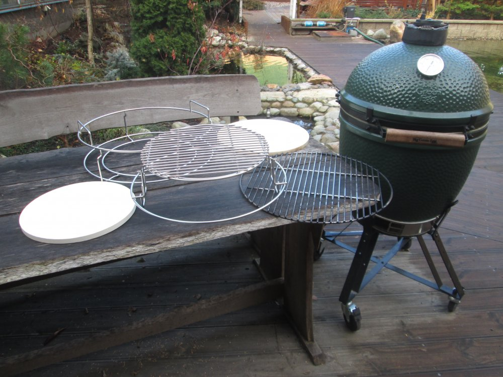 gril big green egg
