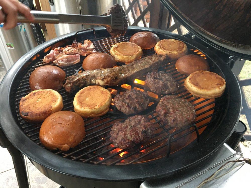 Historie hamburgerů