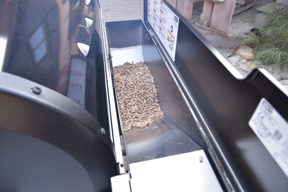 Jak funguje peletový gril?