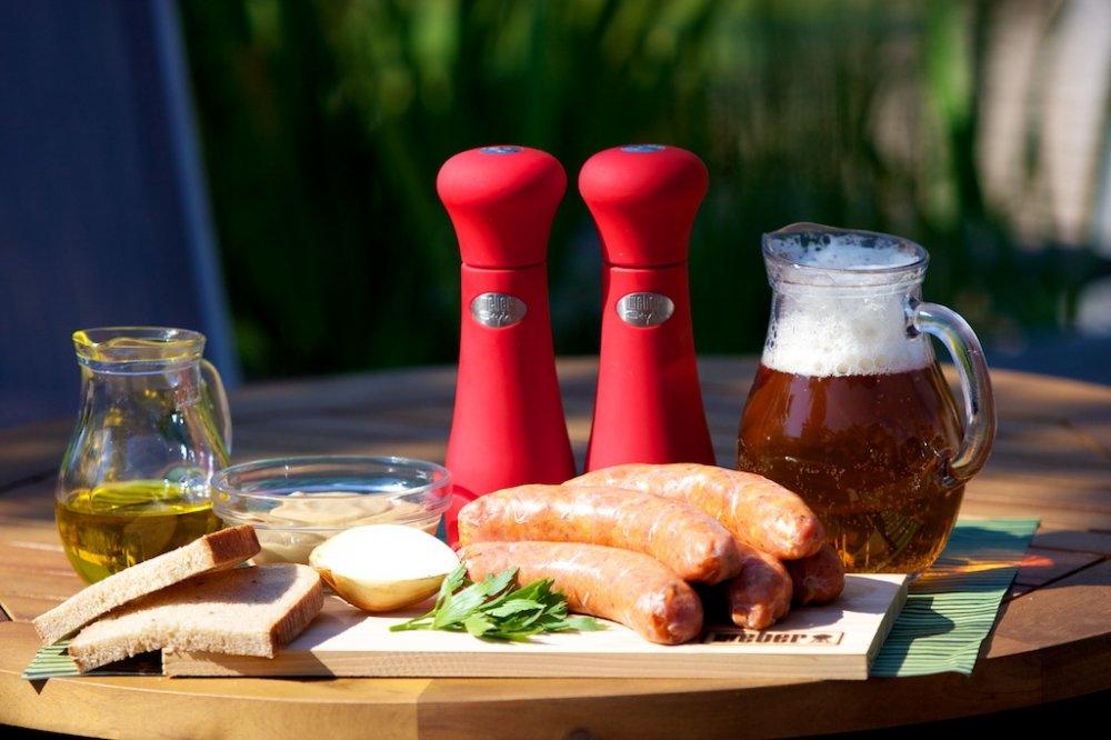 Grilované maso s pivem - výborná kombinace!